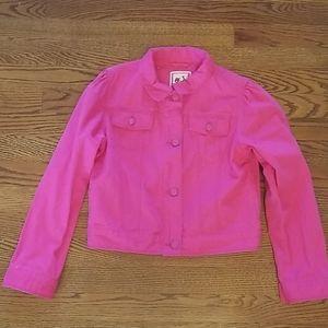 Gymboree girls jean jacket size 10/12